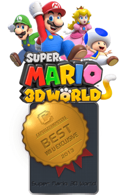 Super Mario 3D World Badge-WIIU