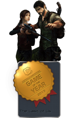 The Last of Us Badge-GOTY