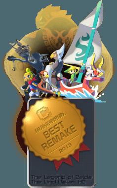 The Legend of Zelda The Wind Waker HD Badge-REMAKE