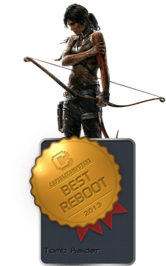 Tomb Raider Badge-REBOOT