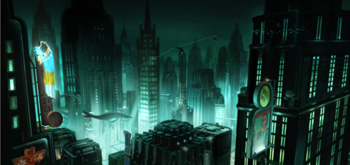 Concept Art for the Failed BioShock Movie has Surfaced