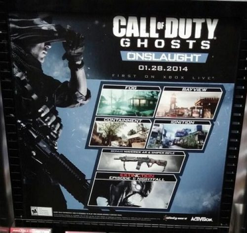 Call of Duty: Ghosts Onslaught DLC info leaked
