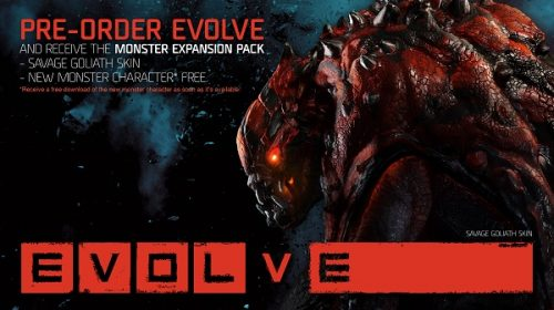 Pre-order bonus announced for Evolve