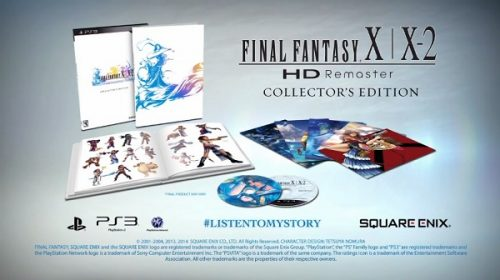 Take a closer look at Final Fantasy X/X-2 HD Remaster's Collector's Edition