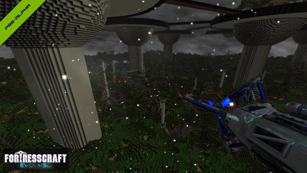 fortresscraft-evolved-survival-mode