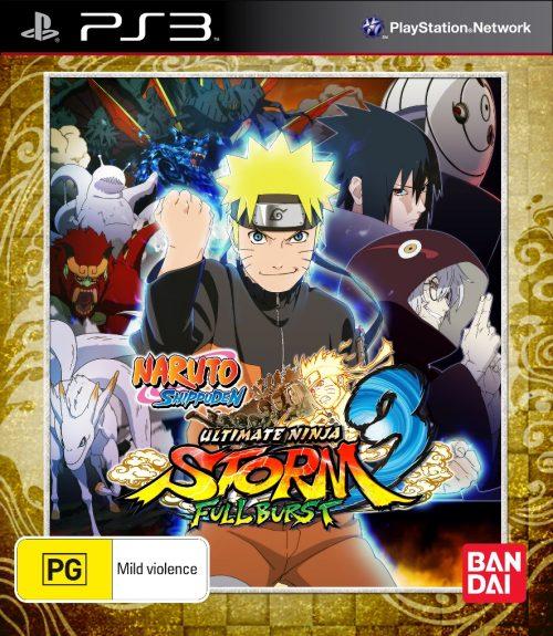 Naruto Shippuden: Ultimate Ninja Storm 3 Full Burst Launching Soon