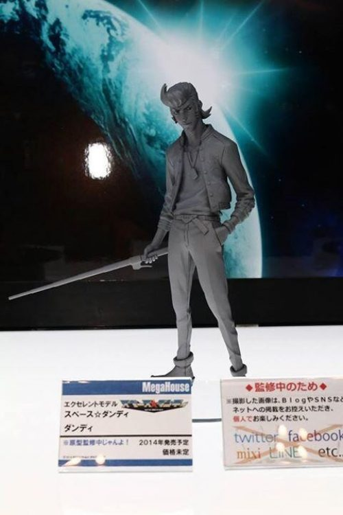 "Prototype Space Dandy Figure Announced/Revealed At ""WonFest 2014"""