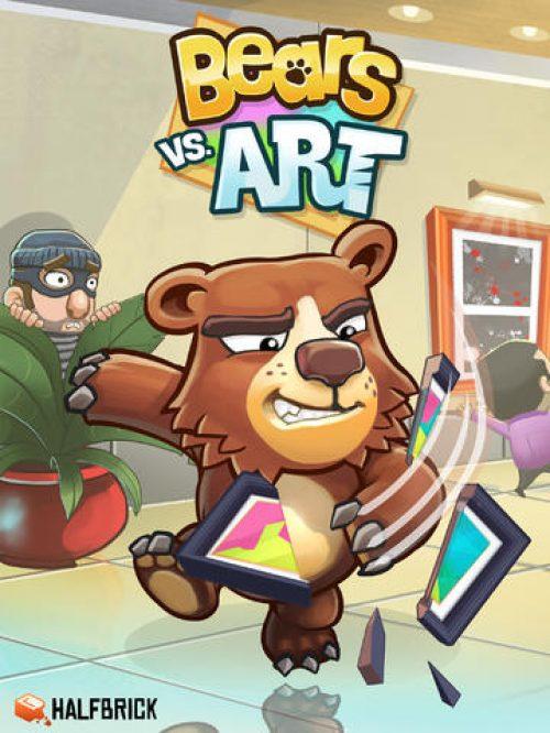 Halfbrick Announces Bears vs. Art