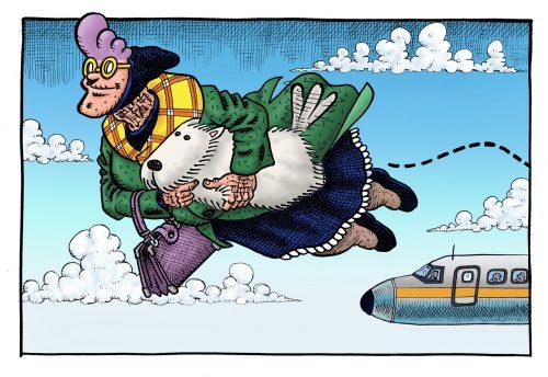 "British Comic-Strip ""Psycho Gran"" goes Digital"