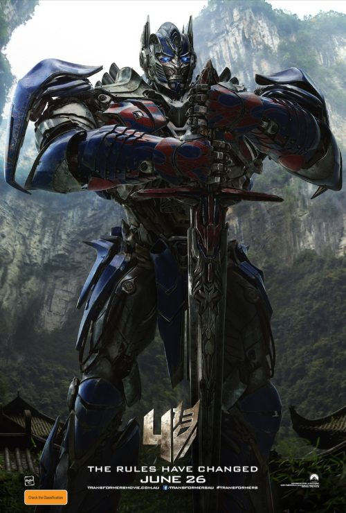 Optimus vs Grimlock in New Transformers: Age of Extinction Teaser