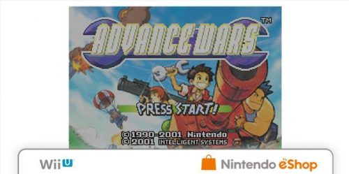 Nintendo of Europe Announces Advance Wars port for the Wii U Virtual Console