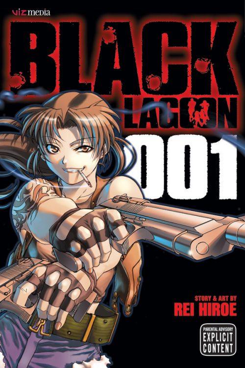 Viz discounts physical and digital volumes of the Black Lagoon manga