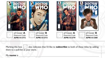 More Info on Titan Comics' Doctor Who Books