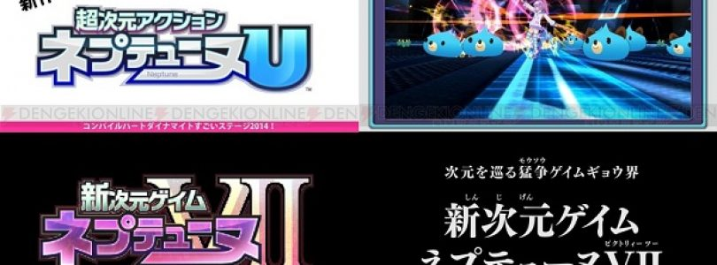 Compile Heart reveals two new Hyperdimension Neptunia titles