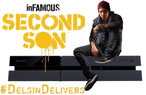 Win inFAMOUS: Second Son with #DelsinDelivers