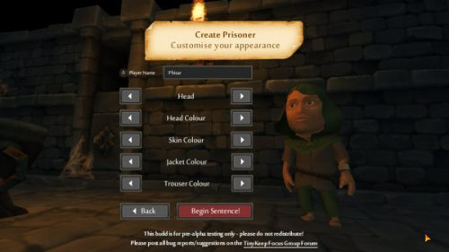TinyKeep To be Released in September for PC