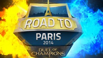 """Might and Magic Duel of Champions Cast """"Road to Paris"""" 2014"""