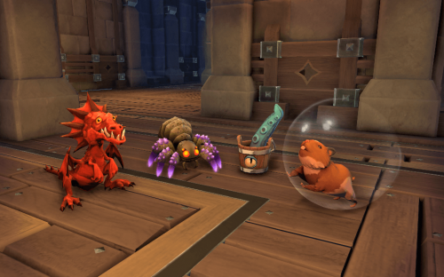 Mighty Quest For Epic Loot now has Pets