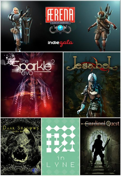 Win 10x CC IndieGala Weekly Bundles