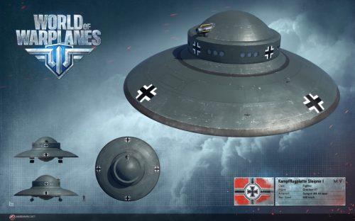 World of Warplanes Set to Add UFOs