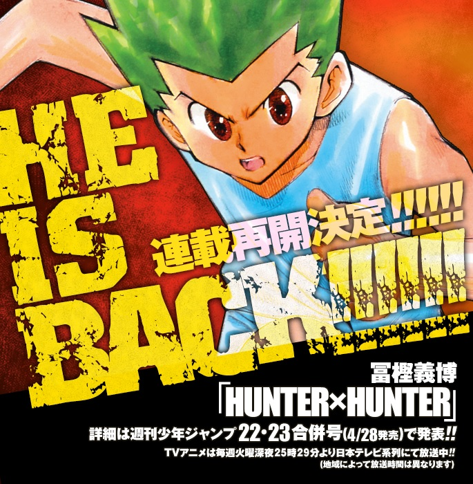 hunter-x-hunter-return-date