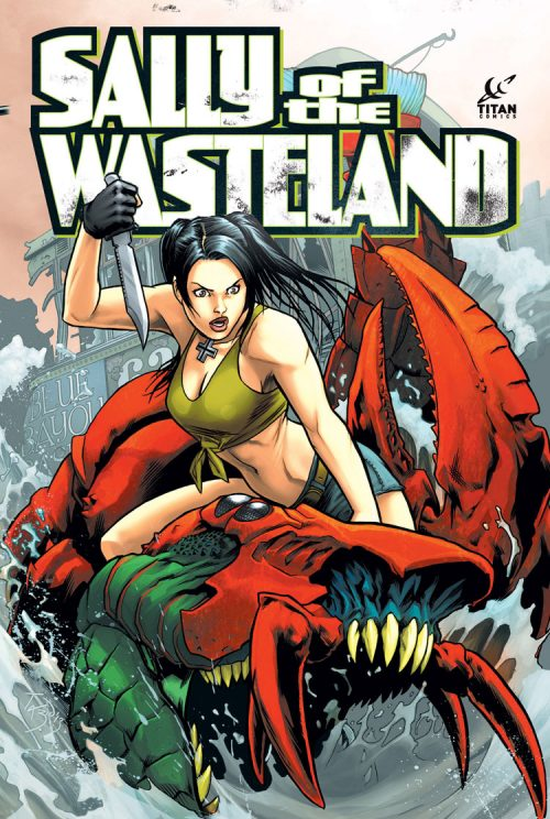 "More Info on Titan Comics' ""Sally of the Wasteland."""