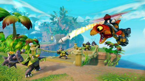 "Activision Announces ""Skylanders Trap Team"""