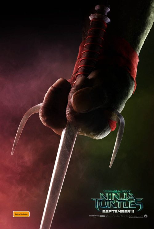First Posters for Teenage Mutant Ninja Turtles
