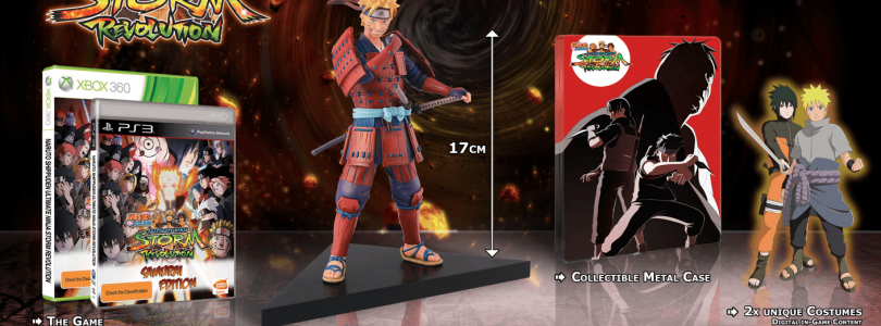 Naruto Shippuden Ultimate Ninja Storm Revolution – Special Editions Revealed