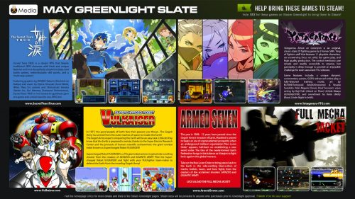 Nyu Media's May Greenlight Slate of Four Doujin Titles Hit Steam