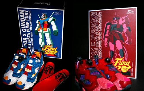Reebok Release Gundam Styled Shoes With Gunpla Packaging