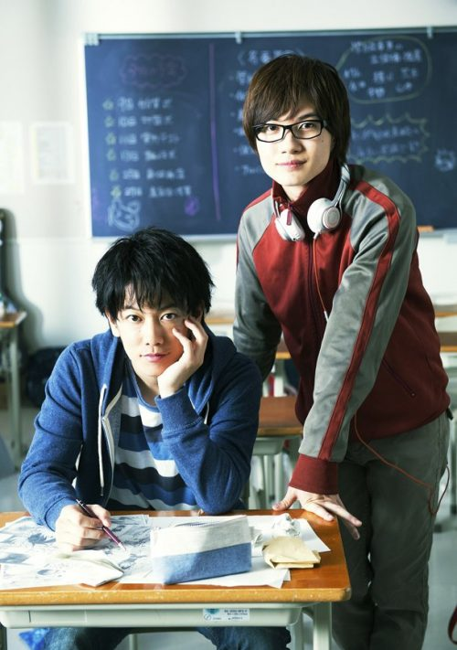 Bakuman Live-Action Film Image Reveals Mashiro and Takagi