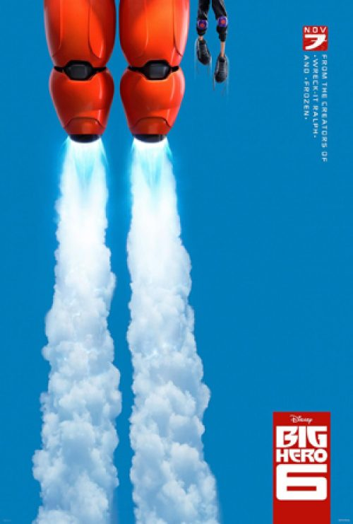 First Poster for Disney's Big Hero 6