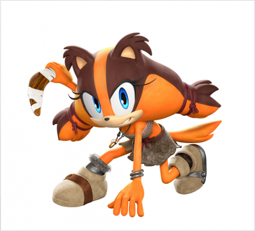 Sonic Boom New Character Sticks Revealed