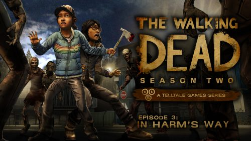 First screenshots of The Walking Dead: Season Two – In Harm's Way released