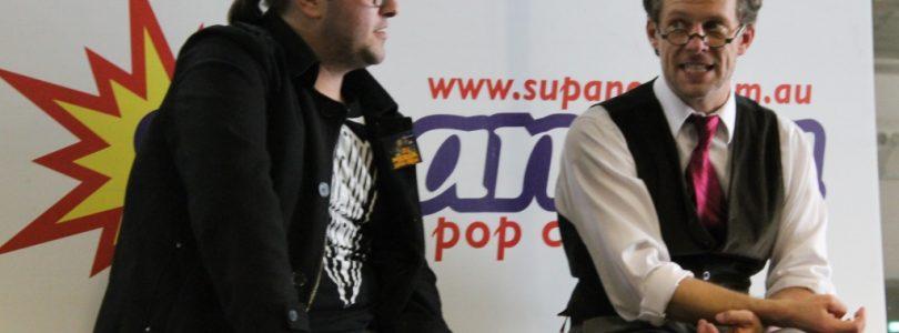 Chuck Huber Interview at Supanova 2014