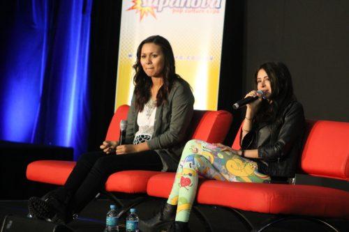 Olivia Olson and Jessica DiCicco Panel at Supanova 2014