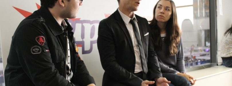 Yuri Lowenthal and Tara Platt Interview at Supanova 2014