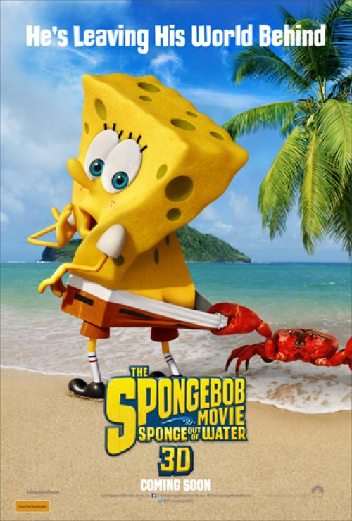 Check out the Poster for The SpongeBob Movie: Sponge Out of Water