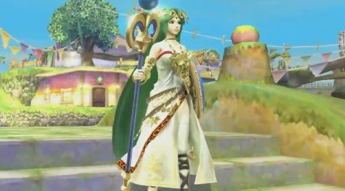 Palutena confirmed for Super Smash Bros. for 3DS and Wii U