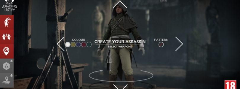 Design an Assassin to be Included in Assassin's Creed: Unity TV Spot