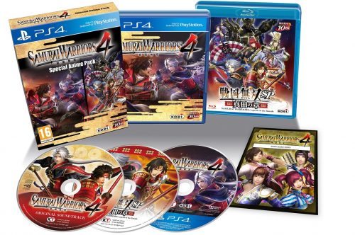 Samurai Warriors 4 Special Anime Pack announced and detailed