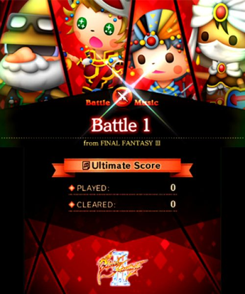 Theatrhythm Final Fantasy Curtain Call contest announced