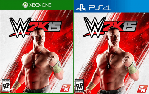 John Cena is WWE 2K15's cover man