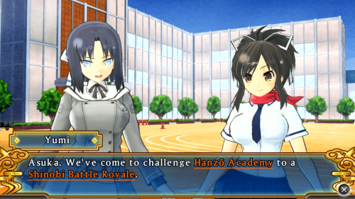 First English screenshots released for Senran Kagura: Shinovi Versus