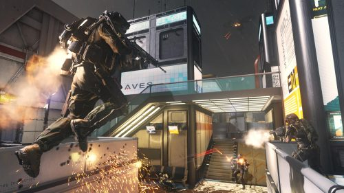 Call of Duty: Advanced Warfare's multiplayer shown for first time in latest trailer