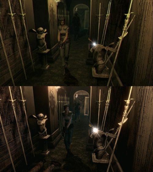 Resident Evil HD comparison screenshots released