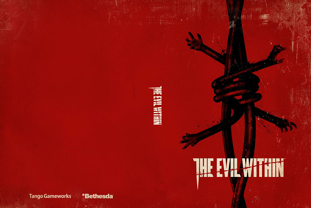 Book Cover Background Xbox : The evil within to have an alternate cover bethesda opens
