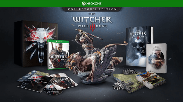 the-witcher-3-wild-hunt-xbox-one-collectors-edition-contents