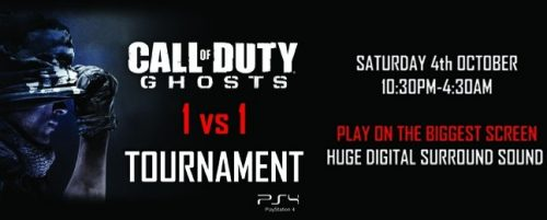 Event Cinemas George St. Holding Call of Duty: Ghosts Tournament